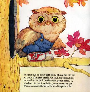 """""""Little Owl Leaves the Nest"""""""