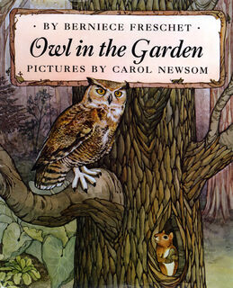 """cover to """"The Owl in the Garden"""""""