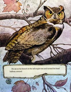 """The Owl in the Garden"""