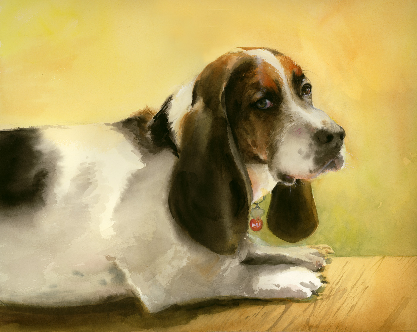 Rocket is descended from royalty in the Basset world.