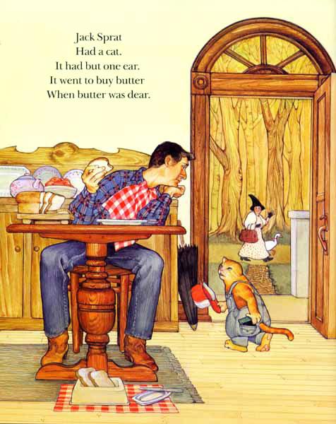 Who knew Jack Sprat had a cat?